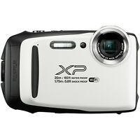 Fujifilm FinePix XP130 16.4MP 5x WHITE Waterproof Camera [Certified Refurbished]