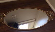 Stylebuilt- 24k Gold Plated Women's Vanity Set Mirrored Tray