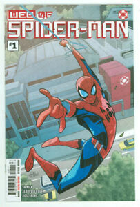 W.E.B. Of Spider-man #1 1st App Harley Keener Iron Man 3 Marvel 2021 NM+ 9.6