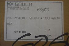 Gould 3-Pole Power Distribution Block 68603