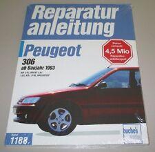 Reparaturanleitung Peugeot 306 XR 1,4i XR XT 1,6i 1,8i XS i S16 XRD XTDT NEU!
