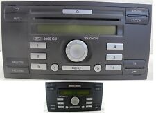 Ford autoradio single CD 6000 focus S-Max fiesta Transit Connect C-Max Fusion