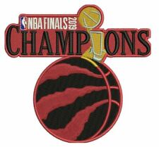 2019 NBA FINALS TORONTO RAPTORS CHAMPIONSHIP PATCH SPECIAL LIMITED TEAM EDITION