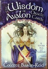 The Wisdom of Avalon Oracle Cards ~ Colette Baron-Reid~ Astounding Insightful