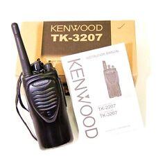 KENWOOD TK-3207G UHF Two Way Radio Ham TRANSCEIVER 5W Walkie Talkie Interphone