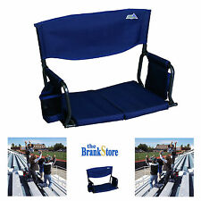 Stadium Seat Cushion Folding Bleacher Chair Portable Sports Chairs Padded Seats