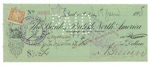 1918-06-17, #FWT8 / BBNA CHECK QUEBEC PAID BY A GRENIER TO DOMINION FISH & FRUIT