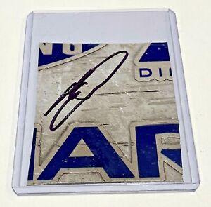 Chase Elliott NAPA Auto Parts Signed Nascar Race Used 2x3 Sheetmetal Piece #14