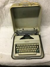 High Quality Vintage Olympia Typewriter SM9 Made In Germany Original Case & Key
