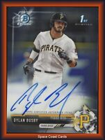 DYLAN BUSBY 2017 BOWMAN DRAFT Chrome Autograph #CDA-DB Pirates 1st RC AUTO