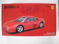 Ferrari 348 GTB  Bausatz  FUJIMI  Maßstab 1:24  OVP  NEU