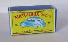 Repro Box Matchbox 1:75 Nr.25 Volkswagen Sedan neuer