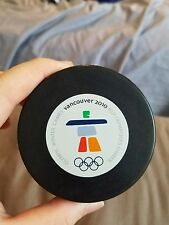 2010 Vancouver Olympic Official Puck