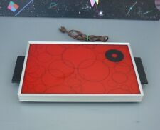 Rare Atomic Space Age Mid-Century Mod Psychedelic Warming Tray- Not Hot Plate