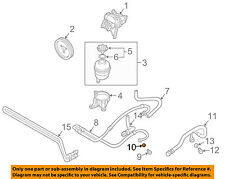 BMW OEM 08-10 528i Power Steering Pump-Pressure Line Hose Seal 32411093596