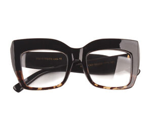 2020 Fashion Big Frame Glasses Women Oversized Optical Glasses Frame Spectacles
