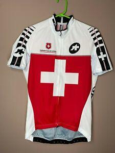 Assos Switzerland Men's Cycling Bike Jersey Shirt Fédération Suisse de Cyclisme