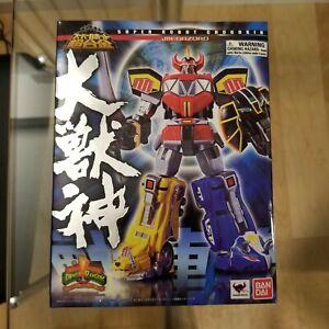 Bandai Tamashii Nations Super Robot Chogokin Megazord Power Rangers sealed