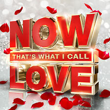 NOW THAT'S WHAT I CALL LOVE 3 CD SET VARIOUS ARTISTS (November 18th 2016)