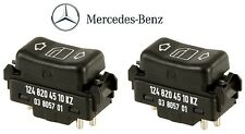 Mercedes W124 W126 W201 300SE Window Switch In Center Console Set Left+Right OEM