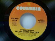 """TYRONE DAVIS """"JUST MY LUCK / LET'S BE CLOSER TOGETHER"""" 45 MINT"""