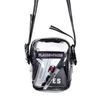 Places + Faces Mini Clear PVC Transparent Crossbody Messenger Shoulder Bag Pouch