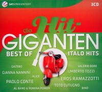 DIE HIT GIGANTEN-BEST OF ITALO HITS 3 CD 60 TRACKS PAOLO CONTE UVM NEW+