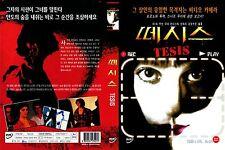 TESIS,1996 (DVD,All,Sealed,New) Ana Torrent, Fele Martinez