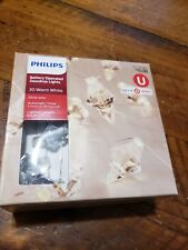 Philips 30ct Battery Operated LED Dewdrop String Lights Warm white Diamond