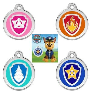 PAW PATROL DOG TAGS / CHILDS KEYRING - GUARANTEED FOR LIFE & ENGRAVED