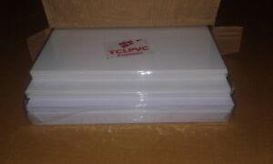 TCLPVC identity Bedge Sheet Pvc Dragon ID Card Plastic Sheets 50+100 Sheets A4