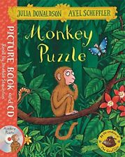 Monkey Puzzle: Book and CD Pack New Paperback Book Julia Donaldson, Axel Scheffl