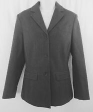 THE LIMITED Stretch Women's Gray Long Sleeved Blazer Suit Jacket - Size Small