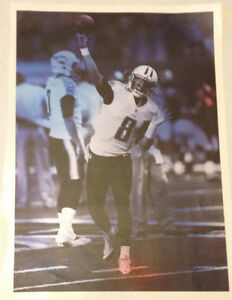 """Marcus Mariota FATHEAD Official Player Mural 18"""" x 13"""" Titans NFL Graphics Decal"""