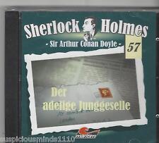 Sherlock Holmes CD - Folge 57 Der adlige Junggeselle - maritim NEU