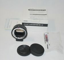 SIGMA MOUNT CONVERTER MC-21 Sigma SA to L mount fitting