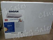 """Broan 30"""" Antero White Undercabinet Range Hood Fan Two Lights #Clsc130Ww"""