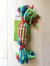 DOG ROPE TOY WITH SQUEAKER 7*31CM