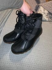 Womens Sperry Duck Boots Size 7.5