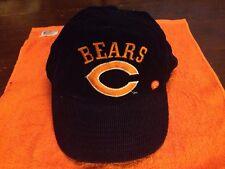 Vintage Chicago Bears Corduroy SnapBack Hat Cap Logo Original Shell NFL
