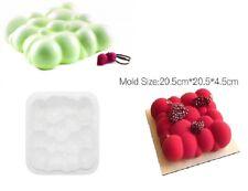 Moule silicone gâteau forme carré nuage boule pâtisserie 3D - 20.5*20.5*4.5 cm