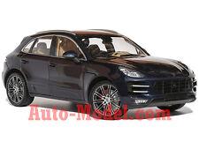 1:18 Minichamps 2013 Porsche Macan Turbo Night Blue Metallic