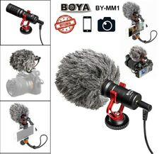 BOYA BY-MM1 Cardioid  Microphone MIC for DSLR CameraShotgun Smartphone Camcorder