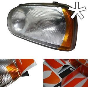 US - Design - Folie für Scheinwerfer VW Golf 3 / Golf III 1H