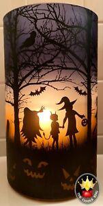 Yankee Candle - Trick or Treat Halloween Hurricane Candle Holder