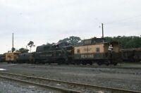 WESTERN MARYLAND Railroad Locomotive Reading Caboose Original 1975 Photo Slide