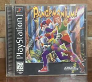 Pandemonium (Sony PlayStation 1, 1997) complete with manual