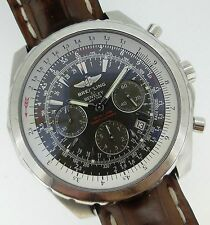 Breitling Bentley Motors T Automatic Chronograph Gray Dial Steel Men's A25363