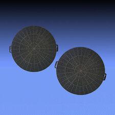 2 Aktivkohlefilter Kohle Filter für Constructa CD6615001 , CD6615003 , CD6615006