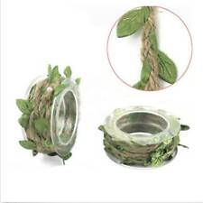 DIY Wedding Party Decor Artificial Leaves Twine String Silk Flower Garlands HOT